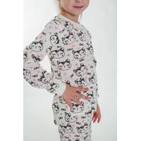 Пижама для девочки молочная