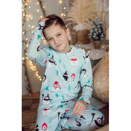 """Пижама детская """"Снеговики"""""""
