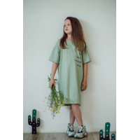 Платье-футболка ШАЛФЕЙ