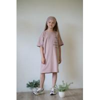 Платье-футболка КАКАО