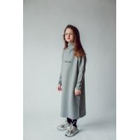 Платье для девочки СЕРЫЙ