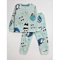 """Пижама для мальчика, принт """"Панды в космосе"""""""