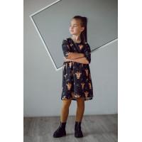 Платье для девочки ЖИРАФЫ