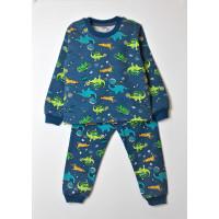 Пижама для мальчика ДИНО В КОСМОСЕ