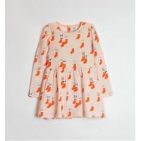 Платье для девочки ЗВЕРУШКИ В НОСОЧКЕ